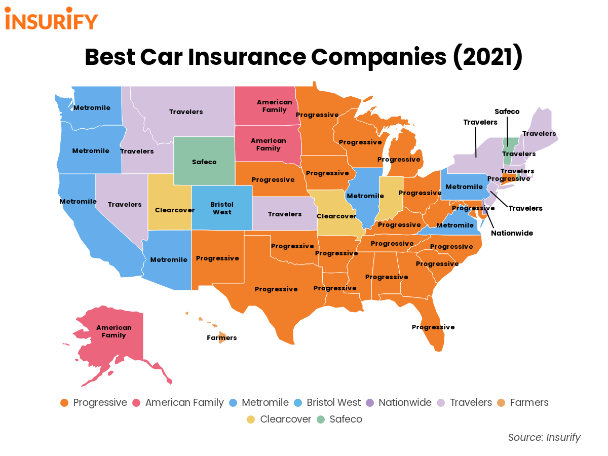 The Best Car Insurance Company in Your State